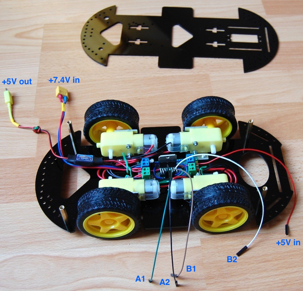 Use Raspberry Pi to Create Obstacle Avoiding Robot Chassis | UUGear