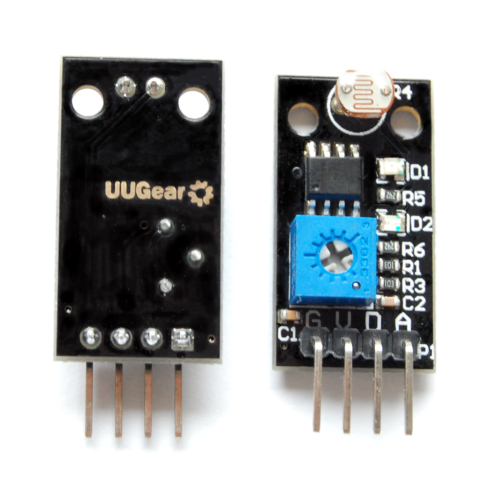 Uugear Light Sensor Module 4 Wire With Both Digital And Analog The Electronics Output
