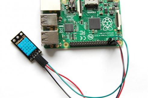 Raspberry pi 3 check temperature