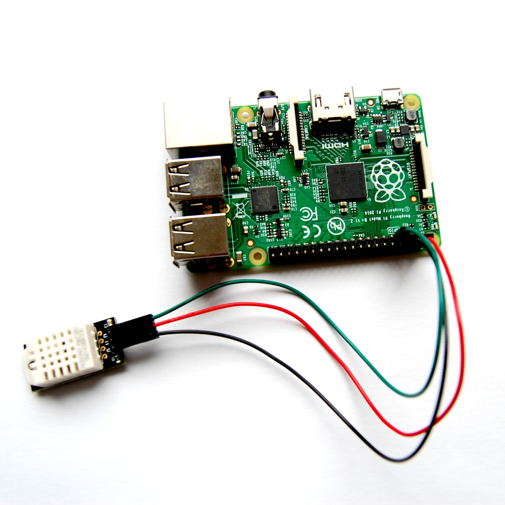 Raspberry pi temperature humidity sensor