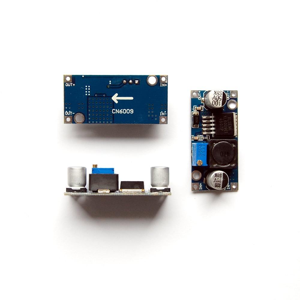 Xl6009 Adjustable Step Up Power Module Dc 4a Converter Uugear 01v To 50v Variable Supply