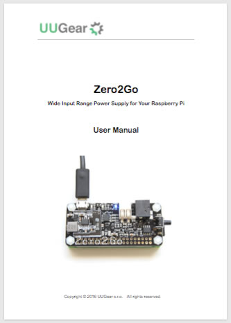 Zero2Go User Manual