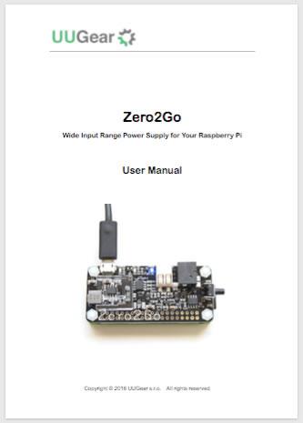 Zero2Go User Manual