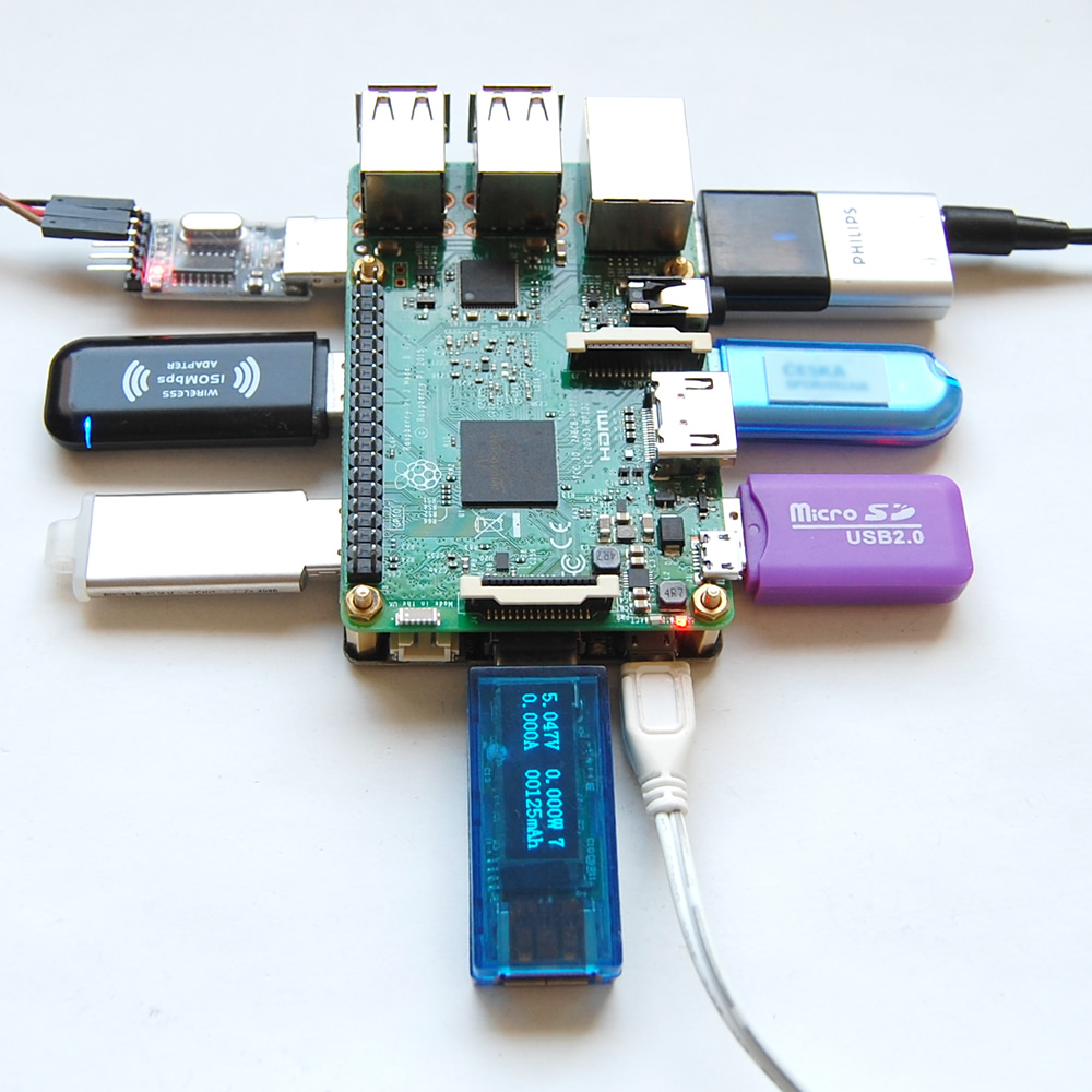 Raspberry pi 3 transmission