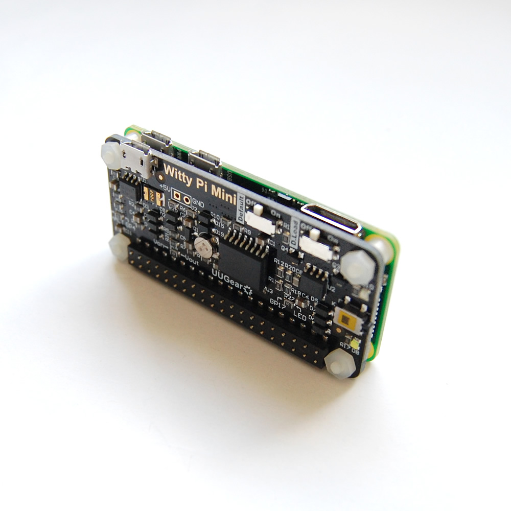 News Uugear Locking Circuit Board Support Spacer From Reliable Although Witty Pi Mini Has Phat Shape It Can Also Be Used On Other Models Of Raspberry In Order To Get Connection And Have Access The