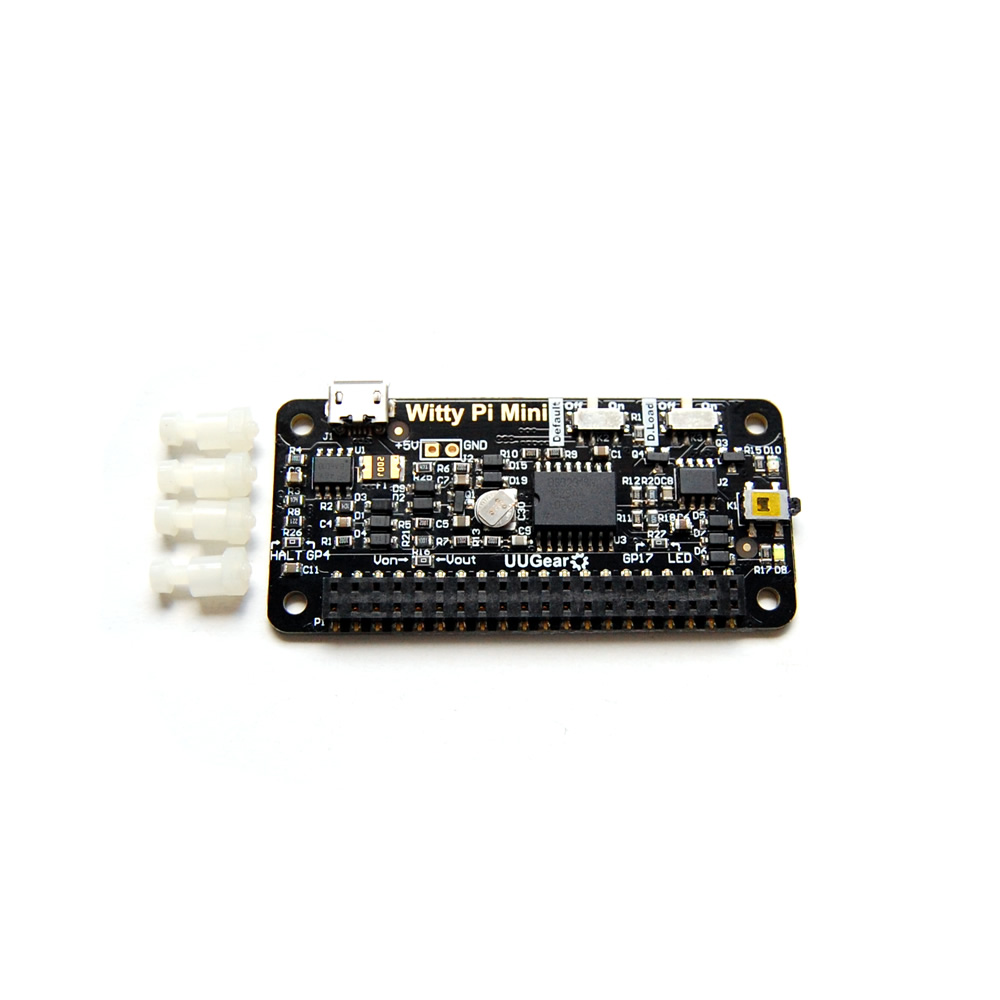 Witty Pi Mini Rtc Power Management For Raspberry Uugear Circuit Board Electronic Enclosure Uu Plastic Housing Black