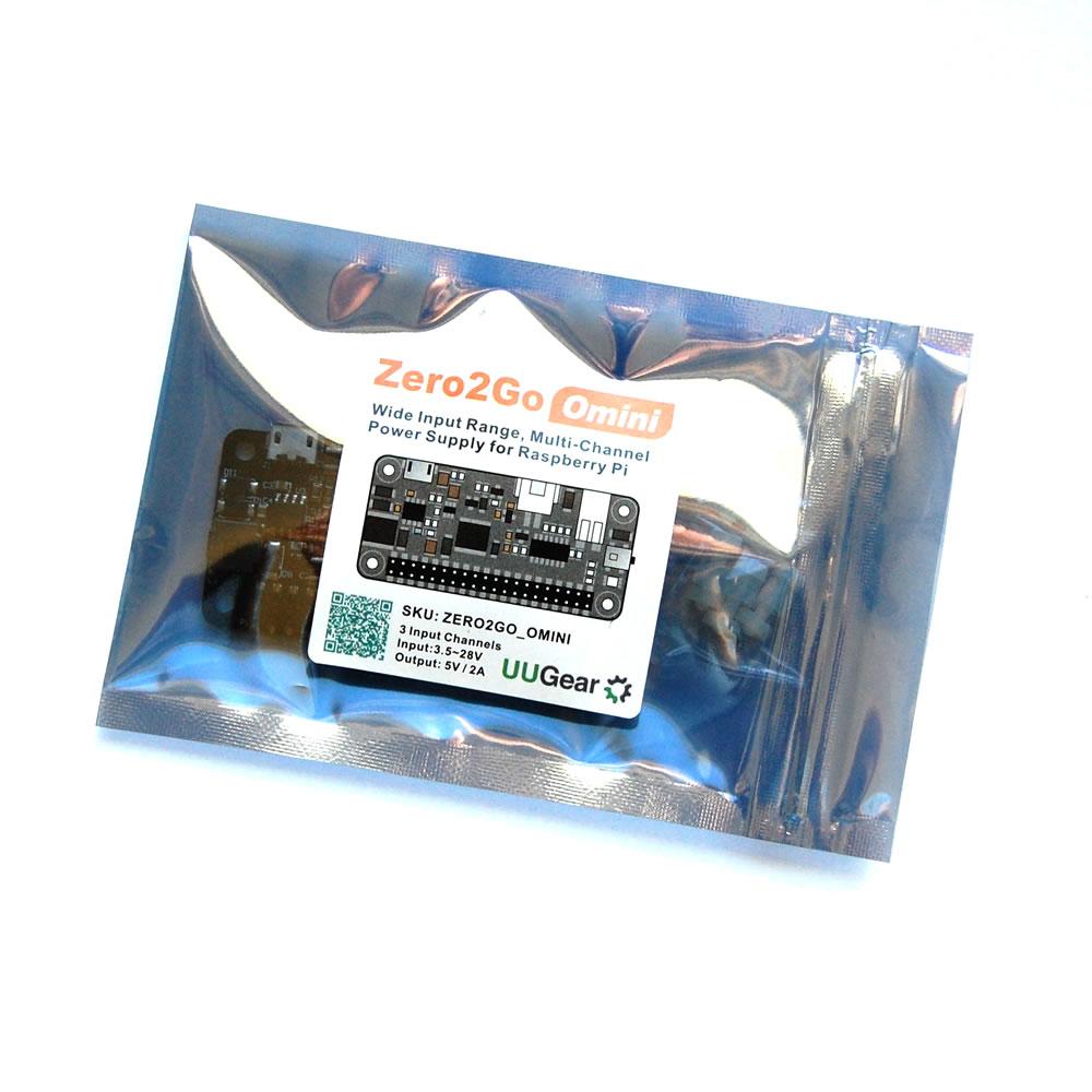 Zero2Go Omini: Wide Input Range, Multi-Channel Power Supply for Raspberry Pi