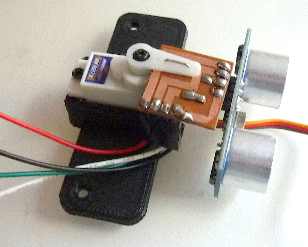 Use Raspberry Pi To Create Obstacle Avoiding Robot Chassis Uugear Wiringpi Pwm Mode Sensor Base