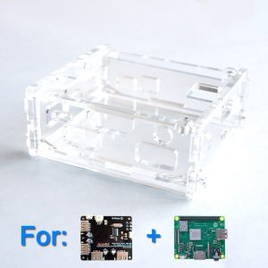 Acrylic Case for Ace4U and Raspberry Pi A+/3A+ (Clear)