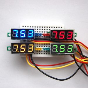 0.28 Inch LED Mini DC Voltmeter