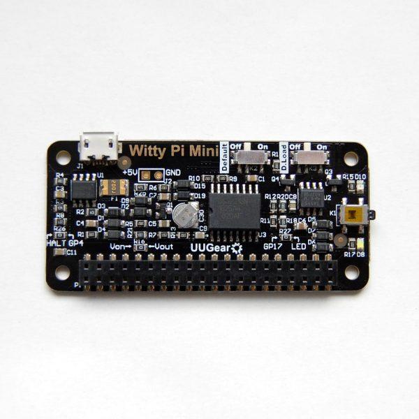 Witty Pi Mini: RTC + Power Management for Raspberry Pi