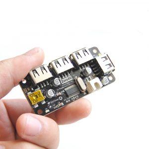 Zero4U: 4-Port USB Hub for Raspberry Pi Zero (V1.3 and W)