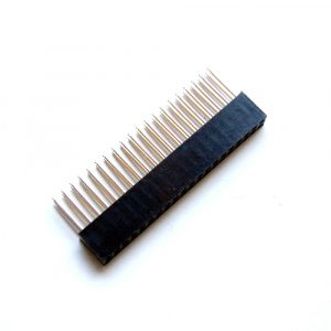 Stacking GPIO Header for Raspberry Pi 20x2 Pins (Square Pin)