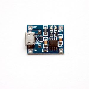 TP4056 Lithium Battery Charging Control Board (Micro USB Input)