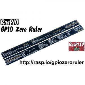 RasPiO GPIO Zero Ruler