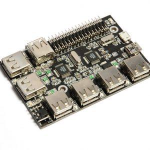 UUGear 7-Port USB Hub for Raspberry Pi