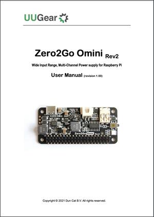 Zero2Go Omini Rev2 User Manual